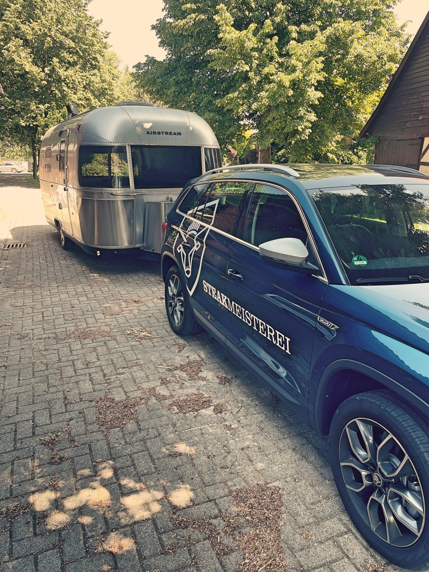 Steakmeisterei Osnabrück Foodtrailer Foodtruck Airstream